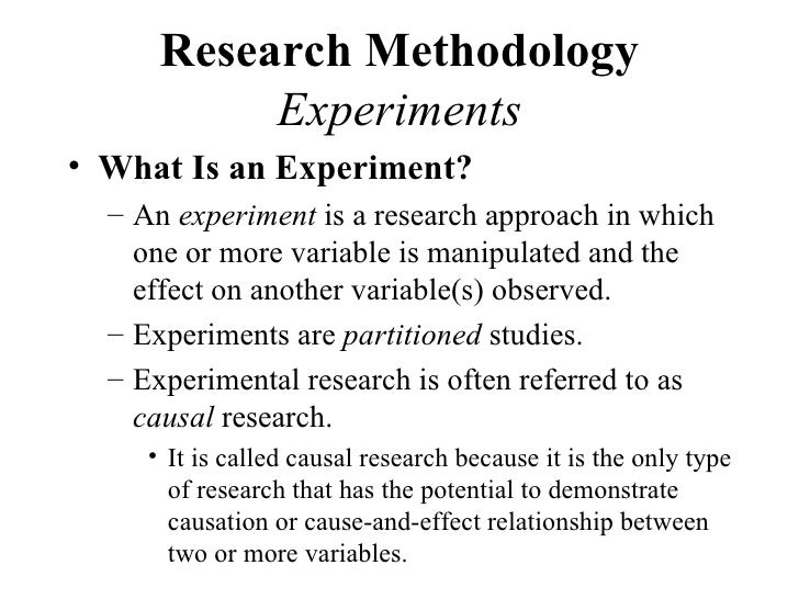 experiment research method Lated to the application of experimental research methods in educational technology the purpose is to provide readers with 38211 true experiments.