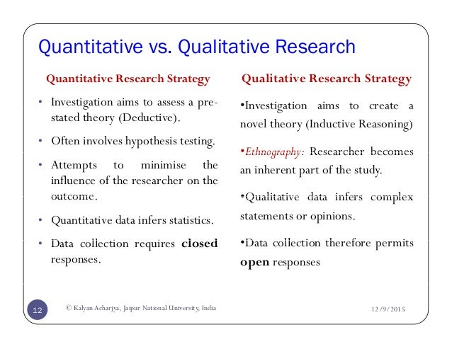what is a research strategy in research methodology Research strategies - quantitative and qualitative research a common distinction is made between two different strategies in research, the one using quantitative methodology and the other using qualitative methodology.