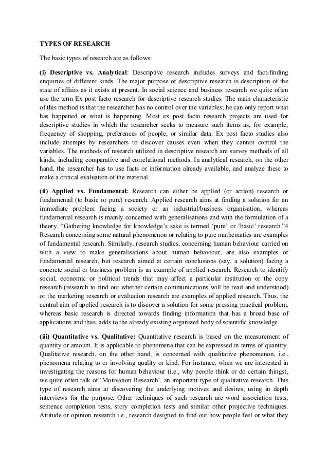 basics of research methodology pdf