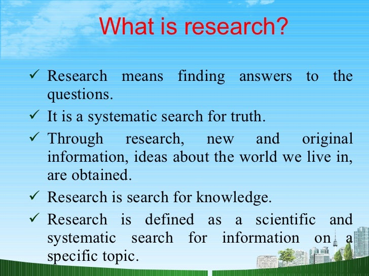 Module 1: Introduction: What is Research? | ORI - The Office of Research Integrity
