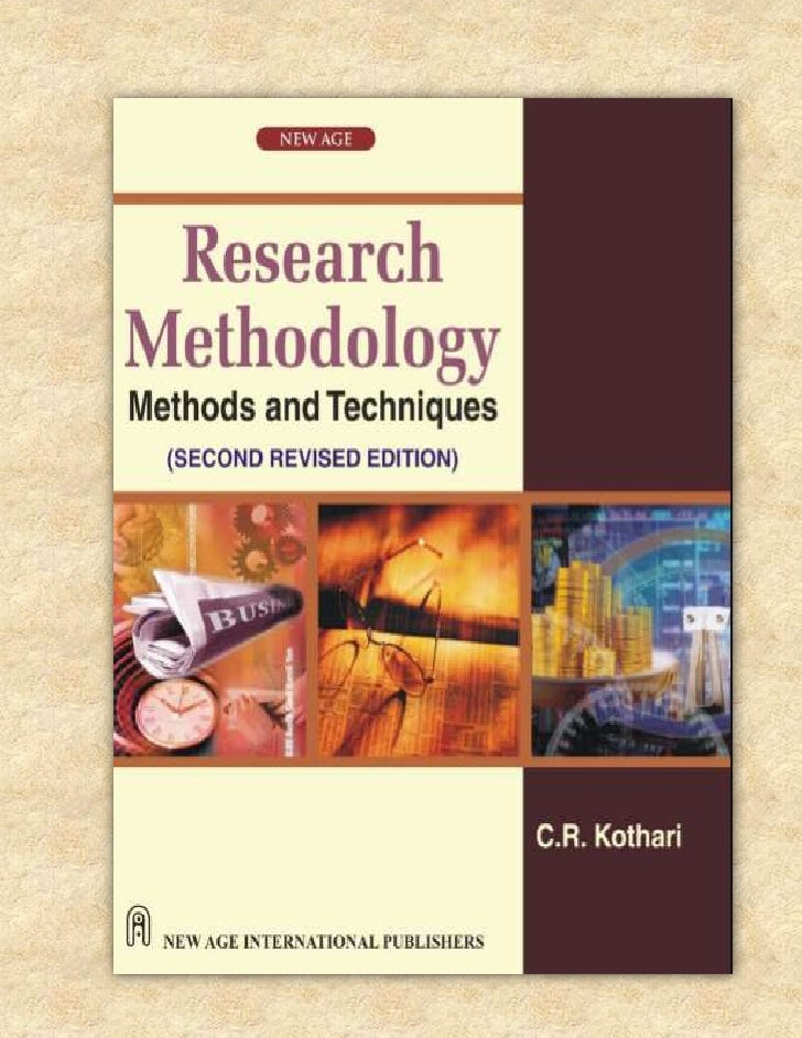 Research methodology theory  chapt. 1- kotthari