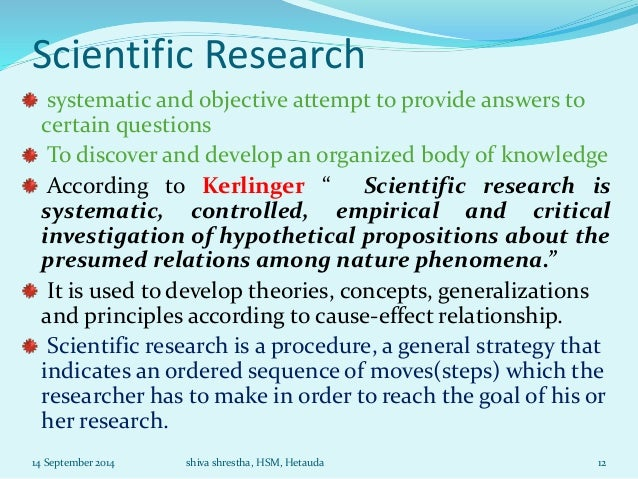 an analysis of the concept of the systematically organized knowledge in scientific research A learning organization is an organization skilled at creating, acquiring, and transferring knowledge, and at modifying its behavior to reflect new knowledge and insights.