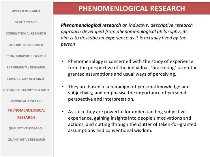 College Essays, College Application Essays - Phenomenology ...