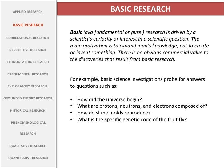 What is exploratory research with examples