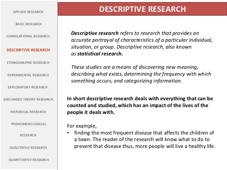 Descriptive Case Study - SAGE Research Methods
