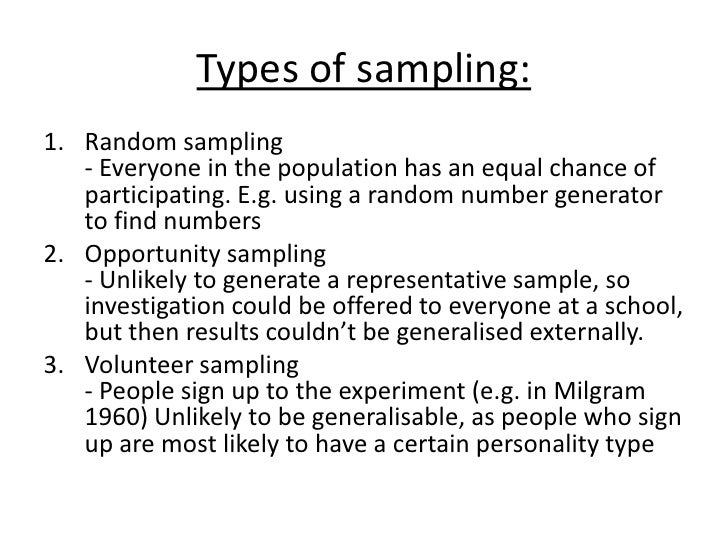 types of sampling methods pdf