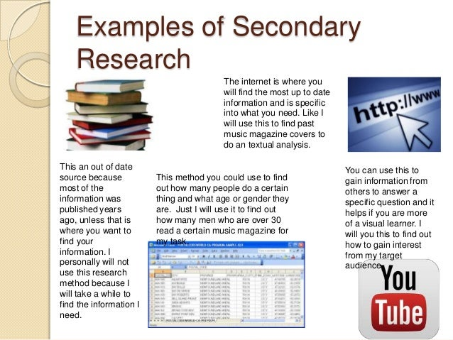 disadvantage of secondary research After exploring in details the topics of primary and secondary market research techniques, this article focuses on the comparison of both types of market research we will first gain 1) an insight into primary and secondary market research, and explore then the benefits and disadvantages of both types of research when choosing to perform 2.