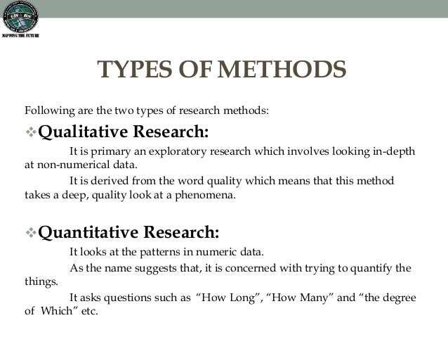 kinds of research methods [slide 2] there are three main types of research, surveys, experiments, and observational studies in a survey, individuals know they are being studied you are asking questions of respondents.