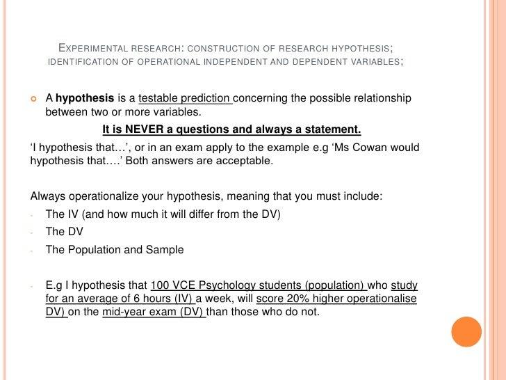 iv dv vce psychology pdf