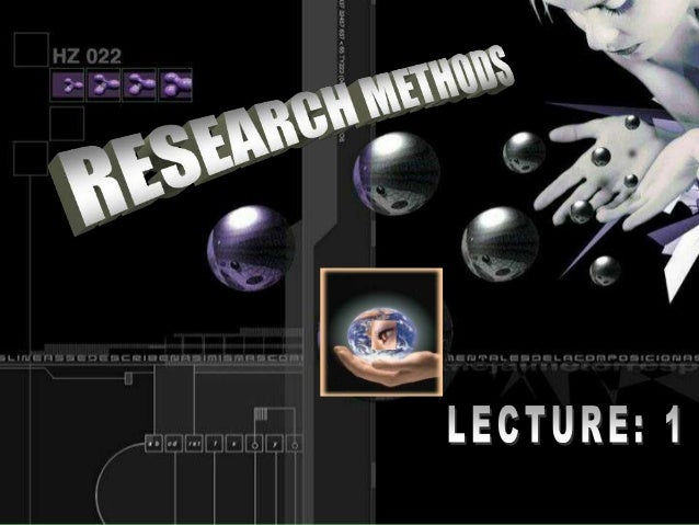 Business Research Methods Slide 2
