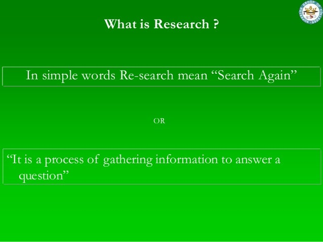 Business Research Methods Slide 3