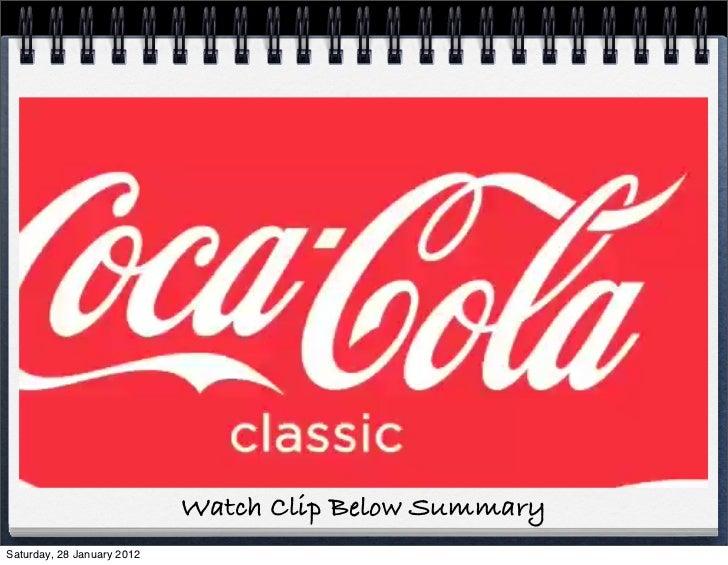 Watch Clip Below SummarySaturday, 28 January 2012