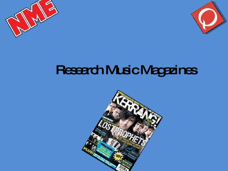 Research Music Magazines