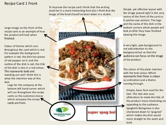 Research of current recipe cards recipe forumfinder Gallery