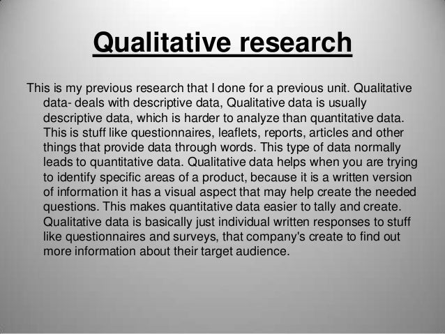 Types of Research Slide 3