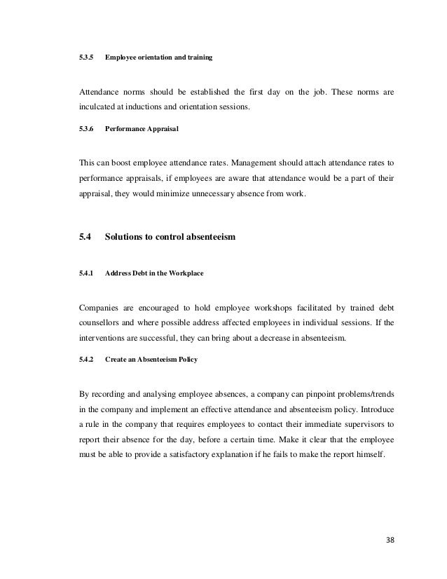 student absenteeism causes effects and possible solutions pdf