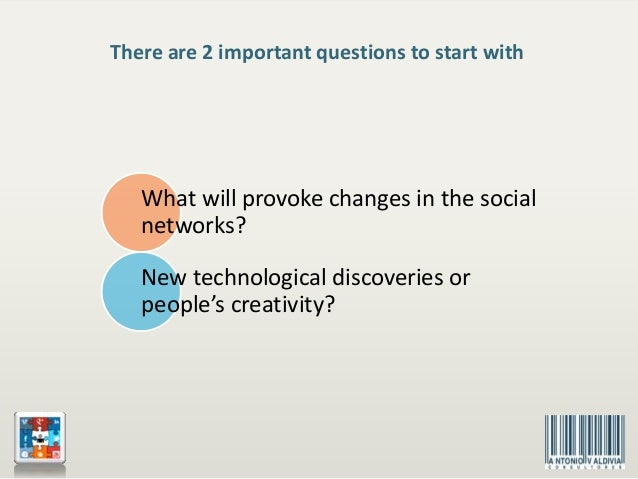 The Future of the Social Networks. Scientific Research. Slide 2