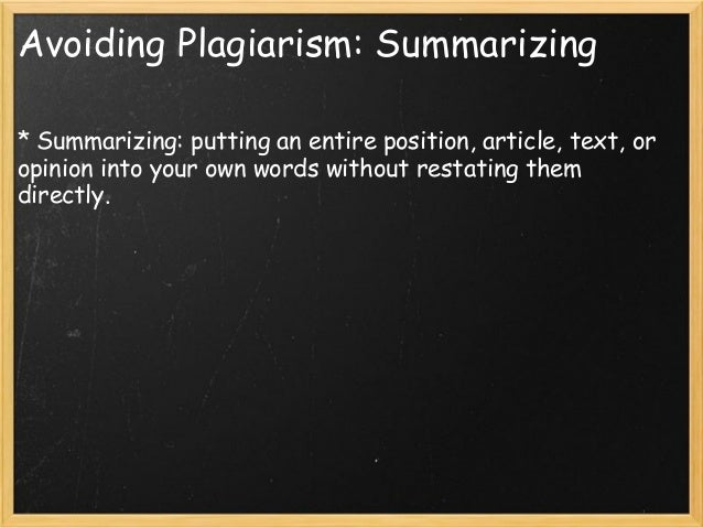 "how much of a research paper should be paraphrased Quoting, paraphrasing, and avoiding plagiarism your research paper chapter three, ""quoting, paraphrasing, and avoiding plagiarism,""6."