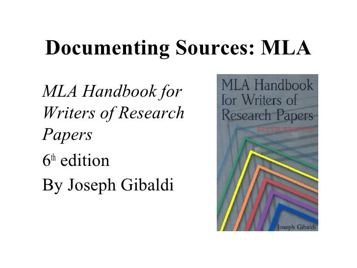 traditional documenting research papers Documenting your sources within the text of your paper: most current research papers insert the basic source information inside parentheses within the text of the paper either at the end of the sentence, or group of sentences, that contain the source's information.