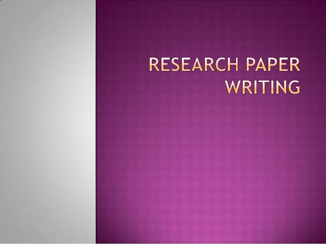  Writing a research paper is not a difficult art to learn as there are specified steps and limited skills required to be ...