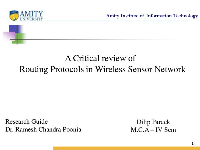 Thesis on Wireless Sensor Network(WSN)