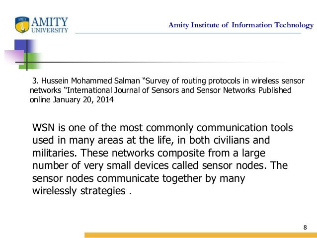 wsn routing thesis This dissertation research proposes embedding artificial neural networks into   73 the routing protocol: ad-hoc multi-hop routing protocol for wsn 108.