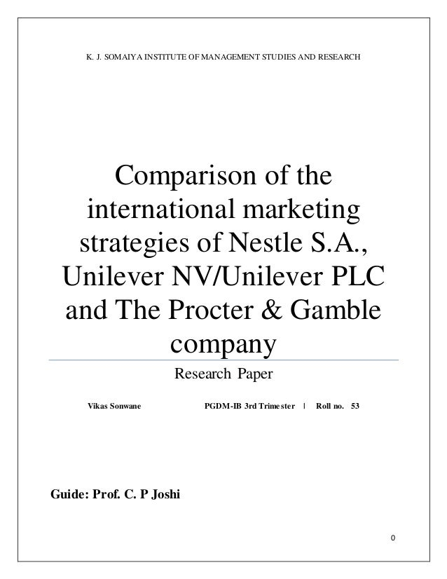 international marketing thesis paper Find out which fields of business research have most opportunities for phds   get advice on how to impress admissions officers, on paper and at interview   that have revolutionized marketing, communications and organizational  and  global labor standards as fields of business research likely to see.