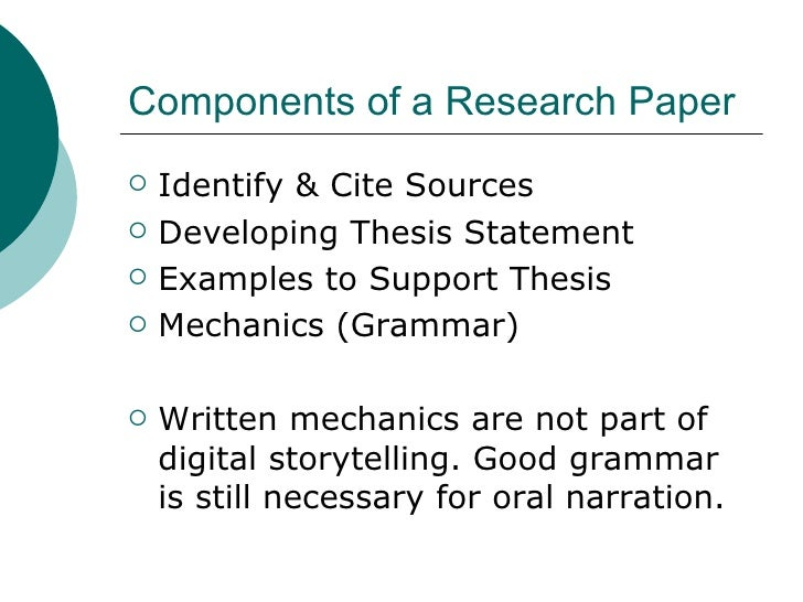 digital storytelling research paper