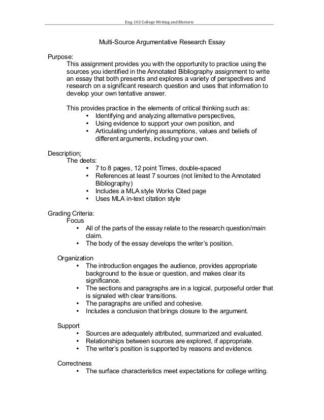 Proposal Essay Topic Ideas  Argument Essay Thesis also Buy Custom Essay Papers Research Paper Assignment Sheet Obesity Essay Thesis
