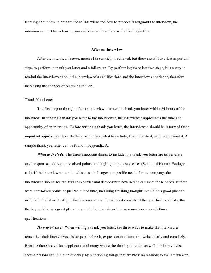 What Is an Interview Essay?
