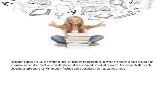 student guide to research papers A research proposal, and the telling of a story in the form of a research paper are all integral parts of scientific thinking the education of scientists, therefore.