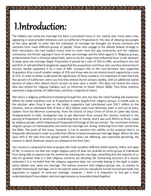 same sex marriage introduction for essays gq same sex marriage introduction for essays