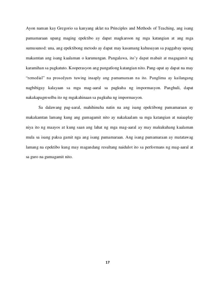 research paper sample tagalog