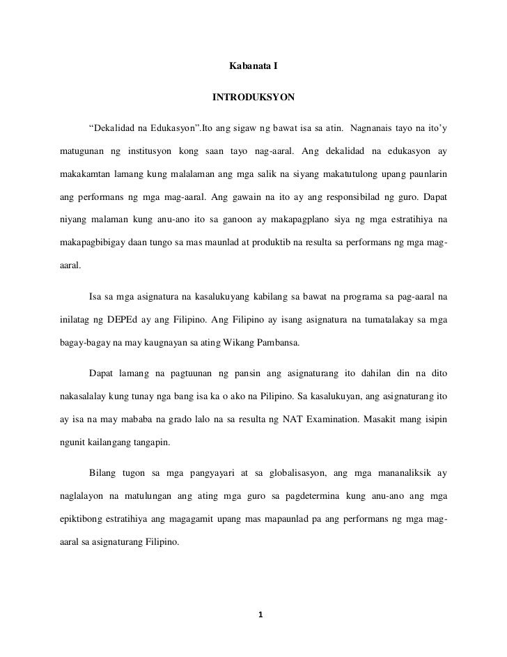 sample filipino thesis paper