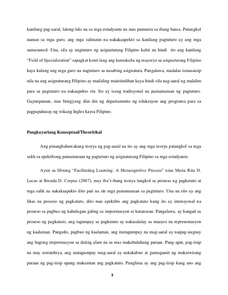 sample tagalog research paper