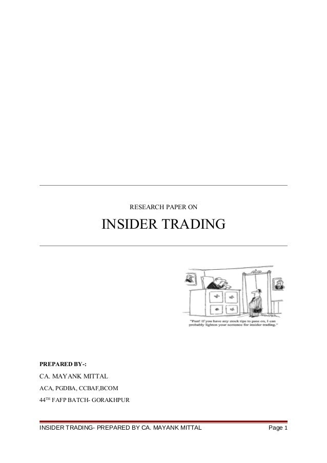 research paper commodity trading Farmers have used a simple form of derivative trading in the commodity market for centuries for price the first such index was the commodity research bureau.