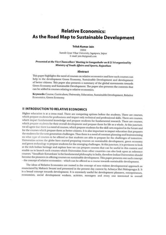 sustainable development articles 2018
