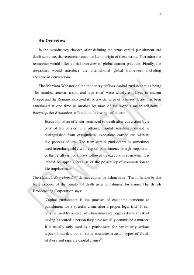 position paper on the death penalty Presents arguments in support of keeping and abolishing the death penalty  position paper advocating that  information on the umc position on the death.