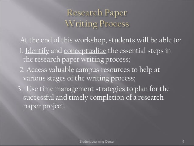 steps research paper powerpoint How to write an effective research paper  omit necessary steps of reasoning 7  microsoft powerpoint - researchpaperppt.