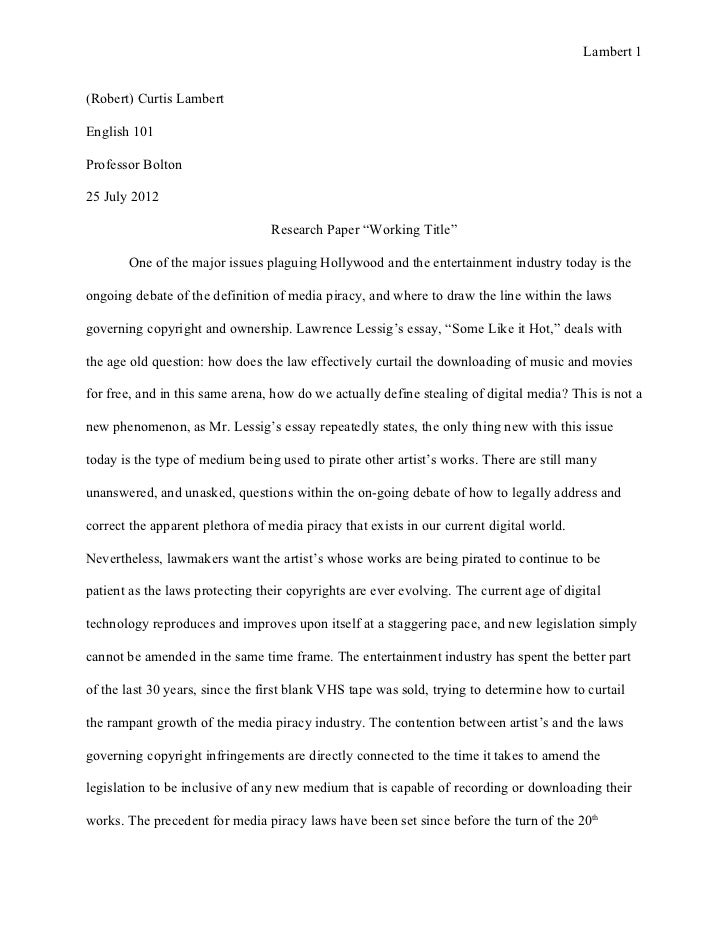 senior english research paper assignment Senior research paper assignment purpose: this paper is designed for you to research something you know at least a little about and have somewhat of an interest in.