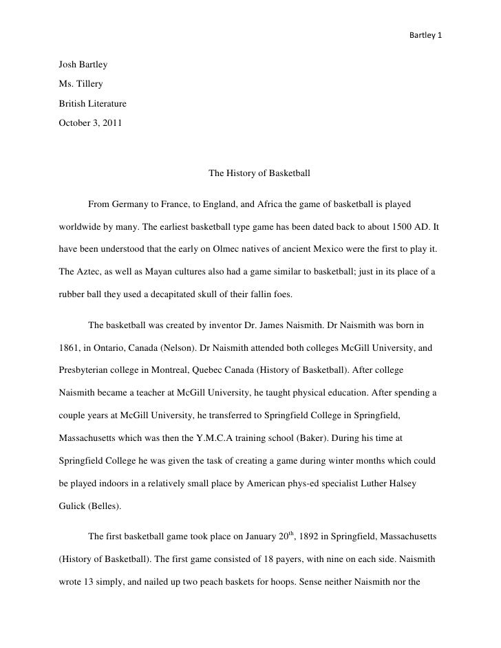 Research Paper Senior Project