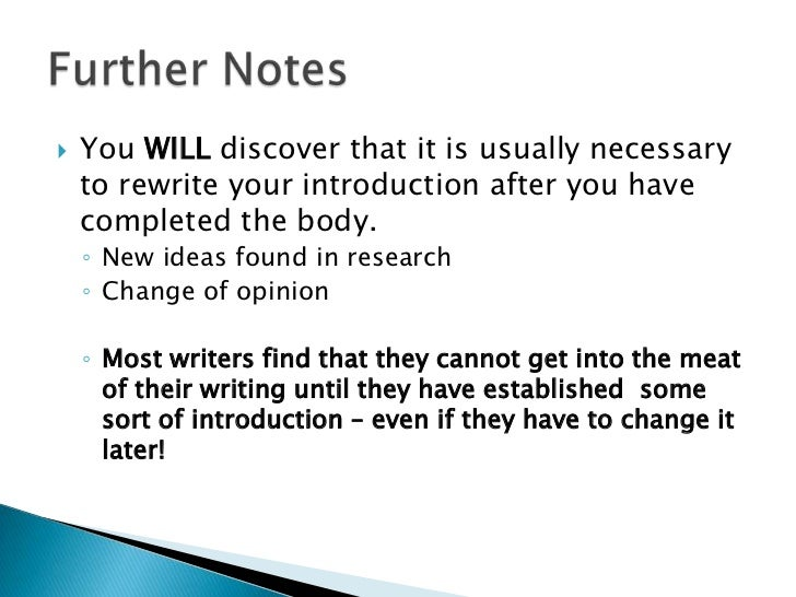 structure of an introduction in an essay