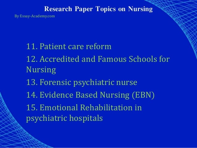 forensic nurses essay History and context considering how old the profession of nursing is, forensic nursing is still in its relative infancy it wasn't until around 1986 that virginia.