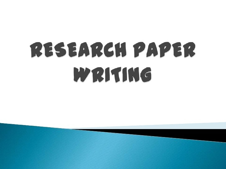Research papers writers