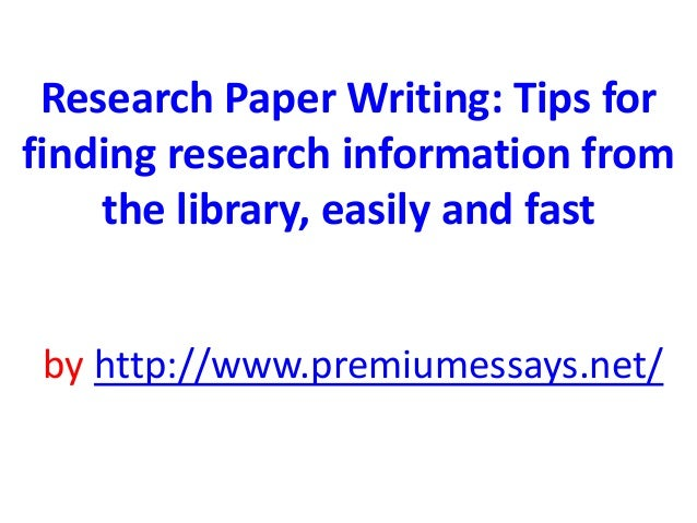 Buy research paper info