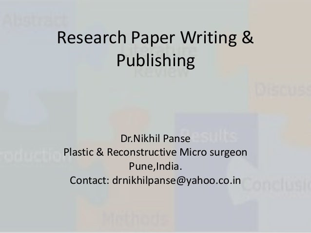 publish medical research paper online High-quality research is essential for the development of any field of science, and this is particularly true for the medical sciences reputed academic journals play an important role in disseminating new ideas and results, making them accessible to the wider public.