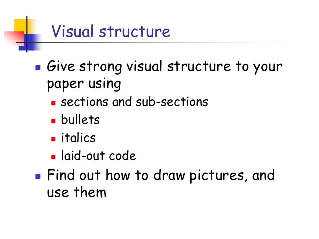 what is a visual for a research paper Free visual arts papers, essays, and research papers.