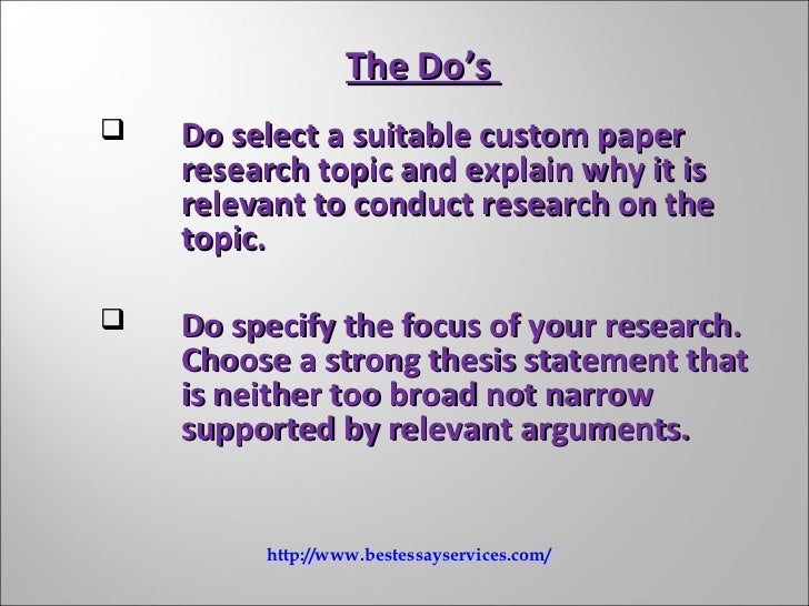 thesis paper vs research paper This resource provides tips for creating a thesis statement and examples of different types of thesis research and citation • in the paper thesis statement.