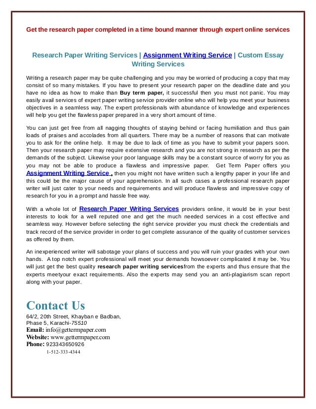 Best Research Paper Writing Service | Ultius