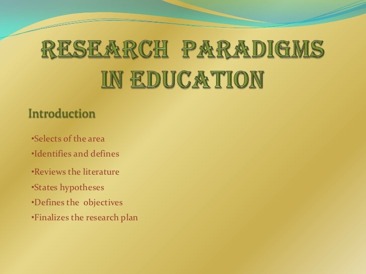 changing education paradigms essay